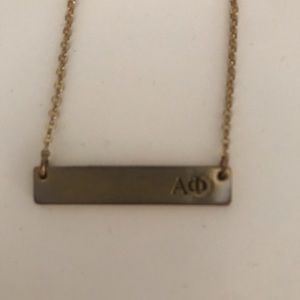 Jewelry - Alpha Phi pendant necklace